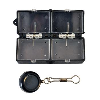 Creative Angler Magnet Fly Box with Retractor