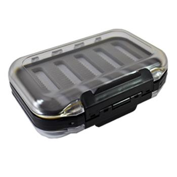 Lakco Double Sided Ice Tackle Box with Foam Slats