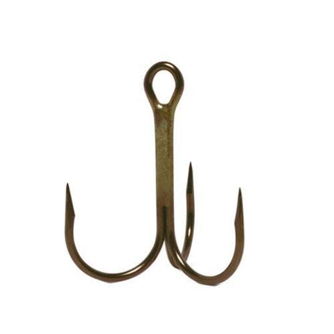 VMC Bronze Finish Treble Hooks - 6 Pack Default Title