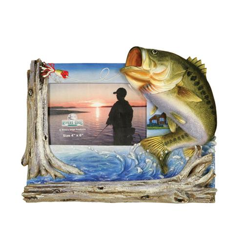 "River's Edge 4"" x 6"" Bass Frame"