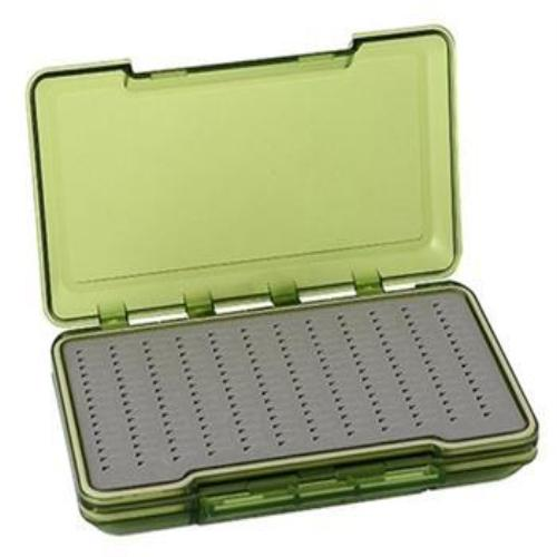 Creative Angler Waterproof Fly Box - Green Medium