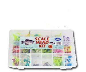Southern Pro Scale Head Fishing Kit 271 Piece