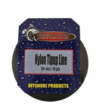 Lakco Nylon Tip Up Line - 50 Yard Spool