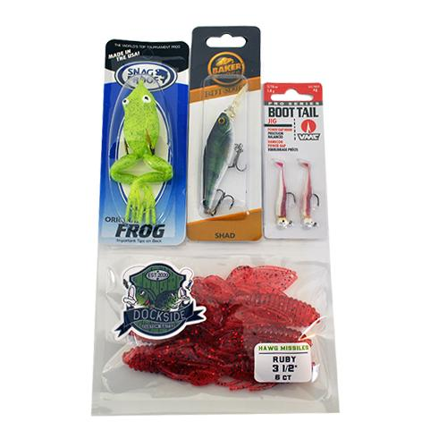 O-Bait Bass Bait 4 Piece Assortment Sets & Bundles