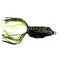 Raptor Lures Mat Crasher Frog Anura Black Soft Baits