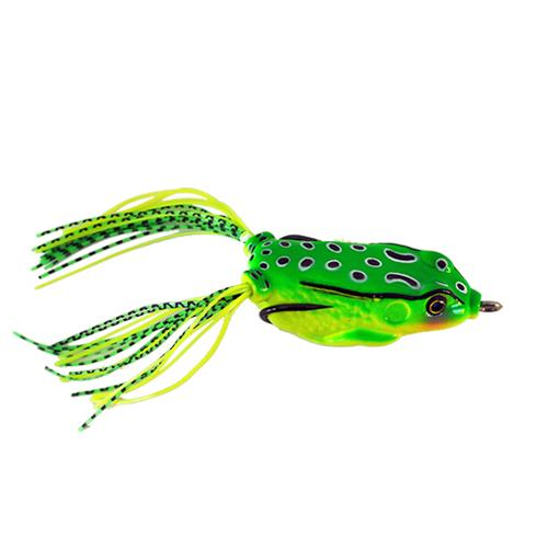 Raptor Lures Mat Crasher Frog Anura Green Soft Baits