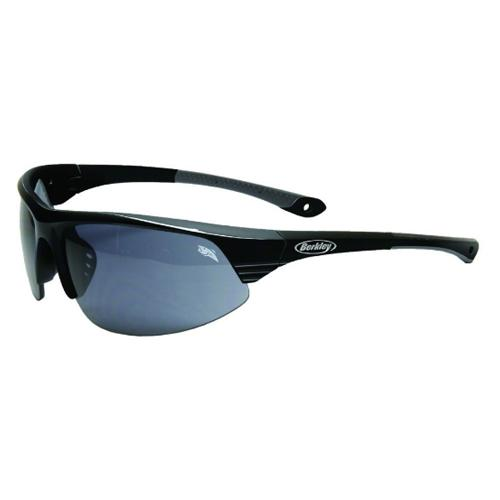Berkley Apache Sunglasses - Gloss Black Smoke