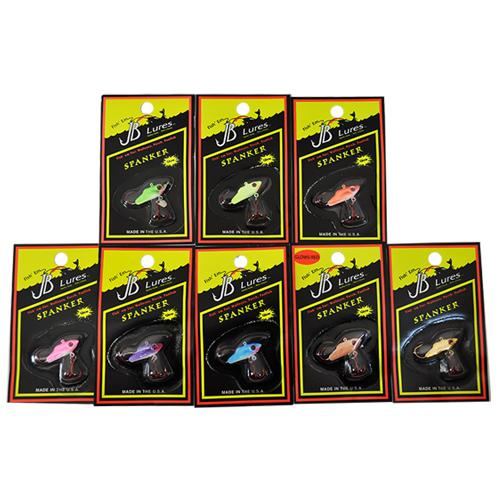 JB Lures 1/6 oz Spanker 8 Piece Assortment Sets & Bundles