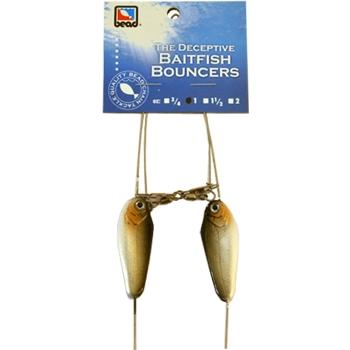 Bead Tackle Baitfish Bottom Bouncer - 2 Pack 1 oz / Fathead