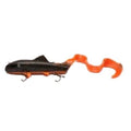 Vicious Fishing Sucker Extreme Muskie Bait Black Orange Flash Soft Baits