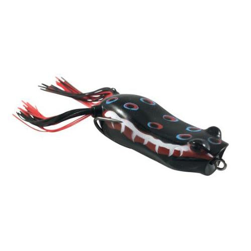 Blitz Lures Popper Phrog Black Widow Hard Baits