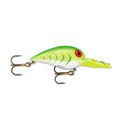Storm Original Wiggle Wart Blazing Green UV Hard Baits