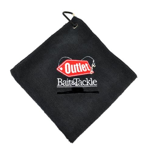 O-Bait Signature Bait Towel - Black Accessories,New and Back in Stock,Shop By Brand
