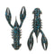 Z-Man TRD CrawZ - 6 Pack Black/Blue Soft Baits