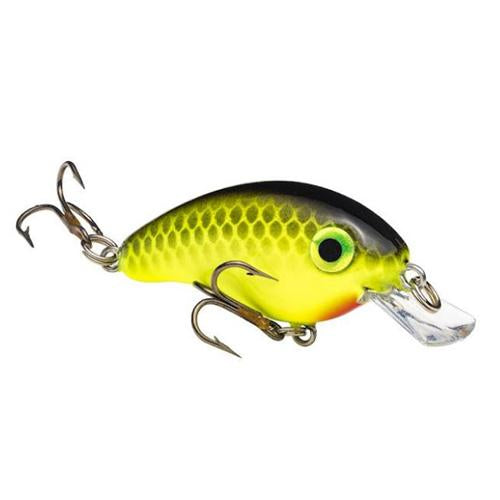 Strike King Bitsy Minnow Black Back Chartreuse Hard Baits