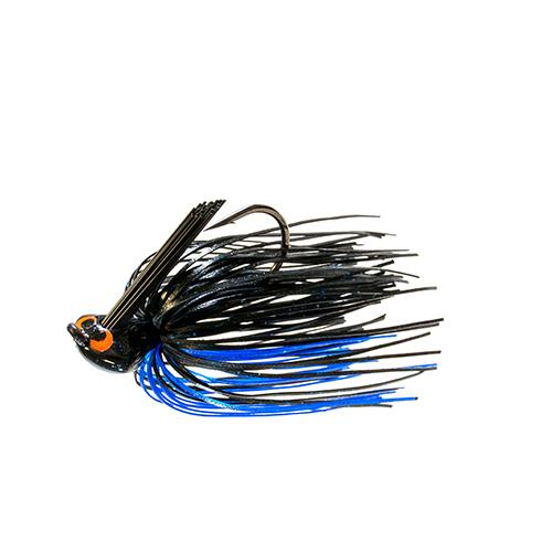 Z-Man CrossEyeZ Flipping Jig 3/8 oz Black/Blue Hard Baits