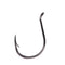 Mustad Double Wide Gap Drop Shot Hook Black Nickel / 1/0 Terminal Tackle