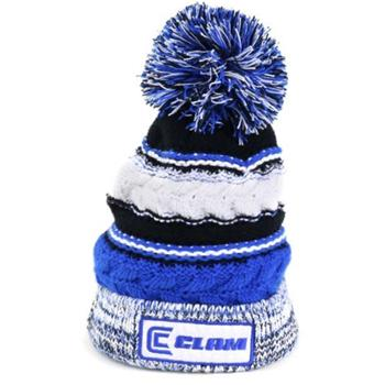 Clam Blue Youth Pom Hat Accessories