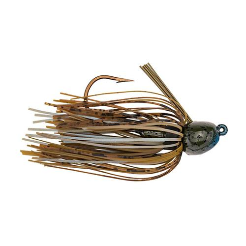 Strike King Bitsy Bug Mini Jig 3/16 oz / Blue Craw Hard Baits