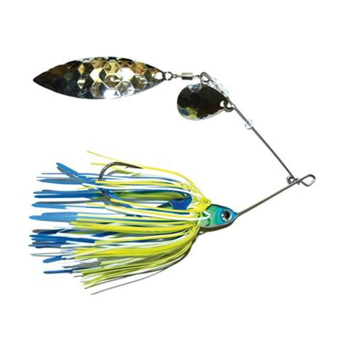 Mission Tackle Tandem Spins Spinnerbait 3/8 oz / Bluegill Hard Baits