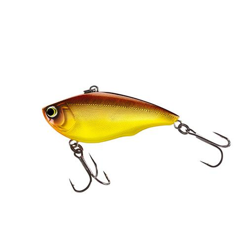 "Yo-Zuri 2-1/8"" Rattl'n Vibe Brown Gold Hard Baits"