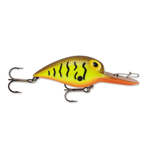 Storm Original Wiggle Wart Brown Scale Crawdad Hard Baits