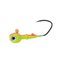 Mission Tackle Rock Chuck Jig Head - 3 Pack 1/8 oz / Bubblegum Hard Baits