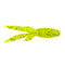 "Dockside Hawg Boss 5"" Chartreuse Soft Baits"