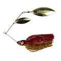 Lunkerhunt Impact Ignite Willow Leaf Spinnerbait Craw Hard Baits