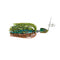 Lunkerhunt Impact Bully Blade 5/8 oz Cabbage Hard Baits