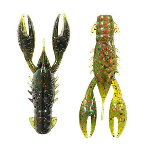 Z-Man TRD CrawZ - 6 Pack California Craw Soft Baits