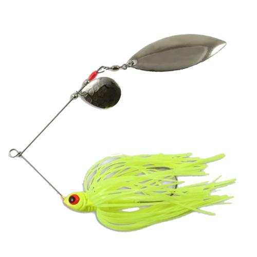 Northland Reed-Runner Tandem Spinnerbait 1/2 oz / Canary Hard Baits