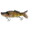"Raptor Lures Brush Tail Shad 7"" Carp Hard Baits"