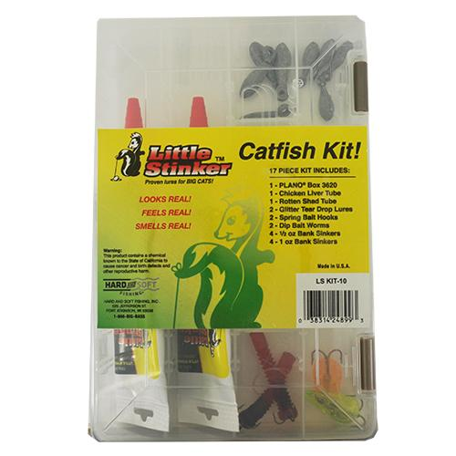 Little Stinker 17 Piece Catfish Kit Terminal Tackle