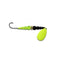 Mack's Lure Wedding Ring Classic Original Spinner #4 / Chartreuse/Black-Flo Chartreuse Hard Baits