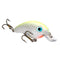 Strike King Bitsy Minnow Chartreuse/White Hard Baits