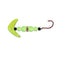 Mack's Lure Wedding Ring Mini Pro Spinner with Smile Blade Chartreuse Sparkle/Flo Chartreuse Hard Baits