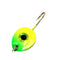 JB Lures Gem-N-Eye Jig Gold Back - 2 Pack #4 / Chartreuse/Green Hard Baits