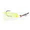 Strike King Thunder Cricket Vibrating Swim Jig 3/8 oz / Chartreuse White Hard Baits