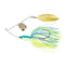 Wahoo Pro-Select BB Swivel Minnow Spinnerbait 1/4 oz / Citrus Hard Baits