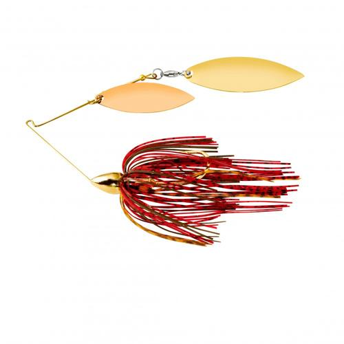 War Eagle Gold Double Willow Spinnerbaits 1/4 oz / Crawfish Hard Baits