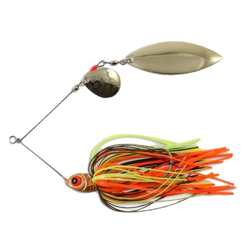 Northland Reed-Runner Tandem Spinnerbait 3/8 oz / Crawfish Hard Baits