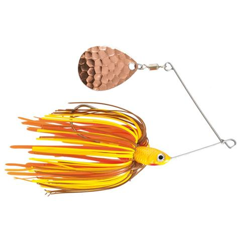 Mission Tackle Single Spins Spinnerbait 3/8 oz / Crawfish Hard Baits
