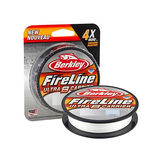Berkley FireLine Ultra 8 Carrier Fishing Line - 125 yards 4 / Crystal Fishing Line