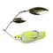 Lunkerhunt Impact Ignite Willow Leaf Spinnerbait Electric Hard Baits