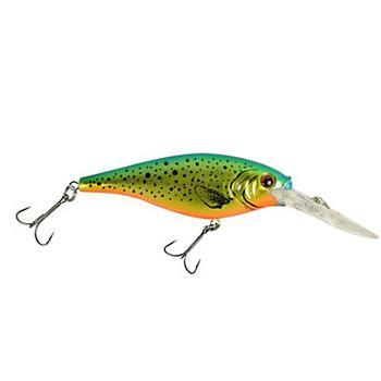 Berkley Flicker Shad - 7 cm Speckled Gold Shiner Hard Baits