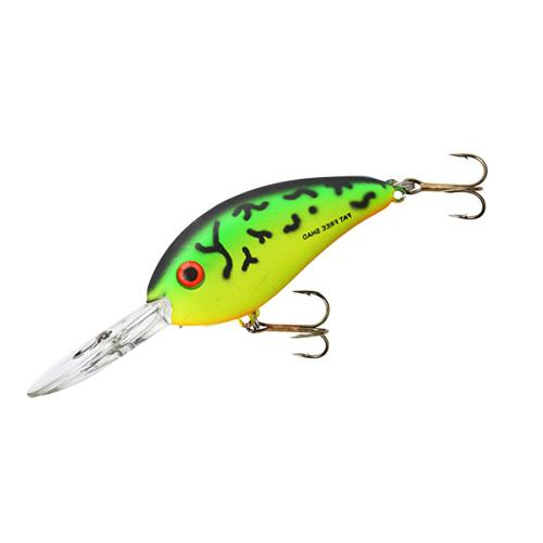 "Bomber 3"" Fat Free Shad Square Lip"