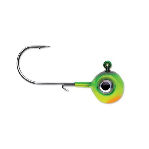 VMC 1/2 oz Neon Moon Eye Jig - 4 Pack Fire Tiger Hard Baits