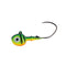 Mission Tackle Rock Chuck Jig Head - 3 Pack 1/8 oz / Firetiger Hard Baits