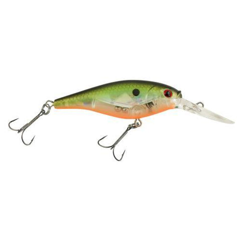 Berkley Flicker Shad - 5 cm Flashy Green Crush